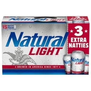 Natural Light 15 Pack